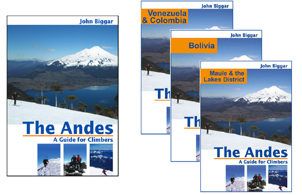 Andes Guidebooks and E-books