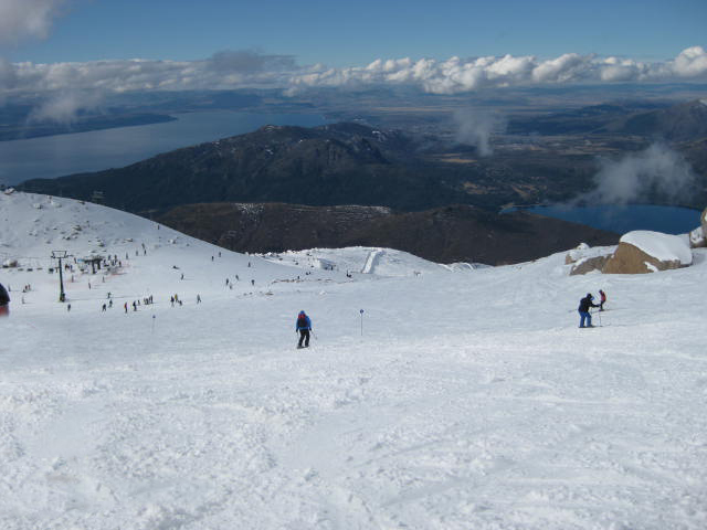 The pistes of Cero Catedral