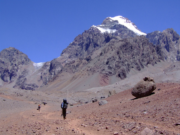 Aconcagua from the east.