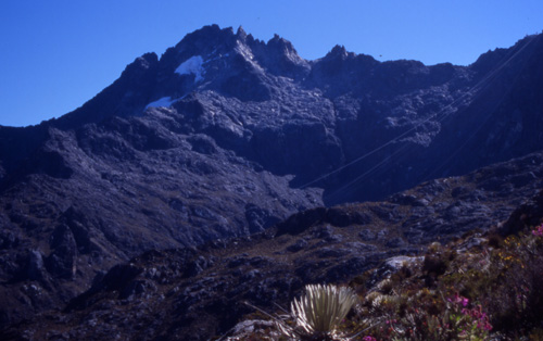 Andes Website Information About Bolivar A High Mountain