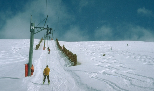Skiing and Snowboarding at Valle Nevado, Chile, South America