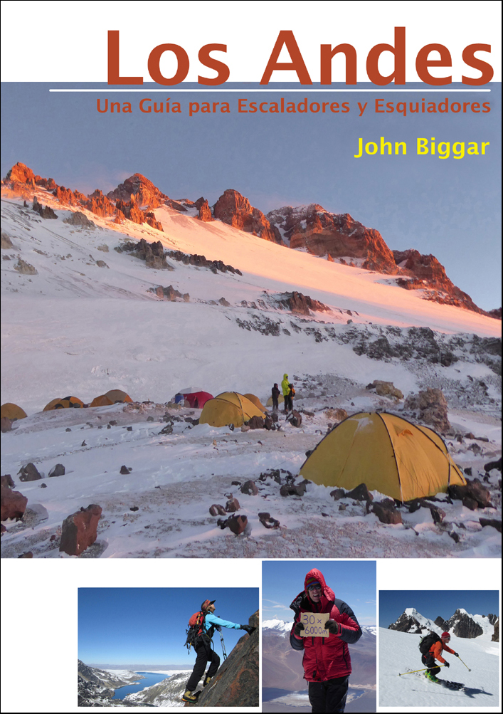 andes website trekking hiking skiing and climbing in the andes