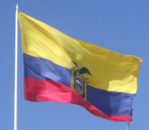The Ecuador Flag