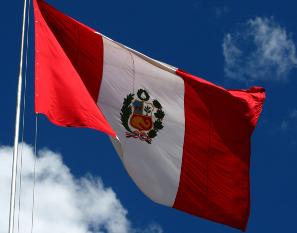 The Peruvian Flag
