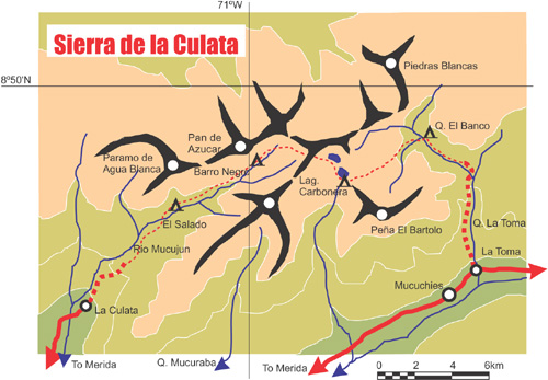 Andes Website  Trekking In The Sierra Nevada Venezuela