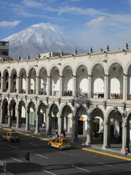 Volcan Misti, above Arequipa